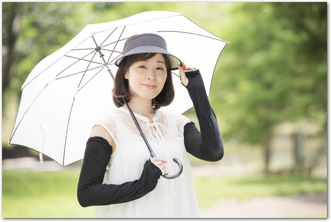 日傘の折りたたみのおすすめは?完全遮光はおすすめ?軽量が人気?