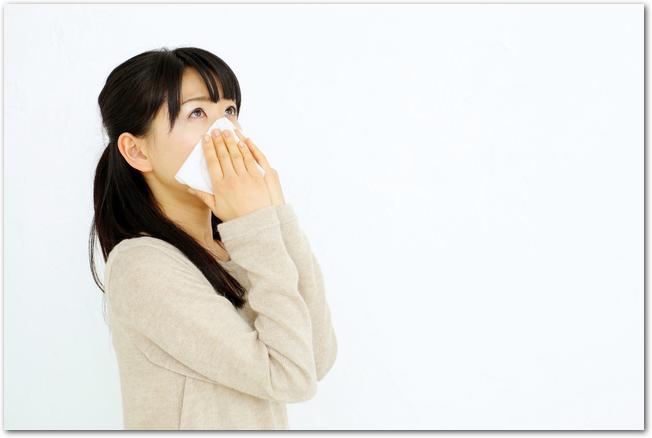 秋の花粉症の症状は?時期は?春との症状の違いは?予防は?