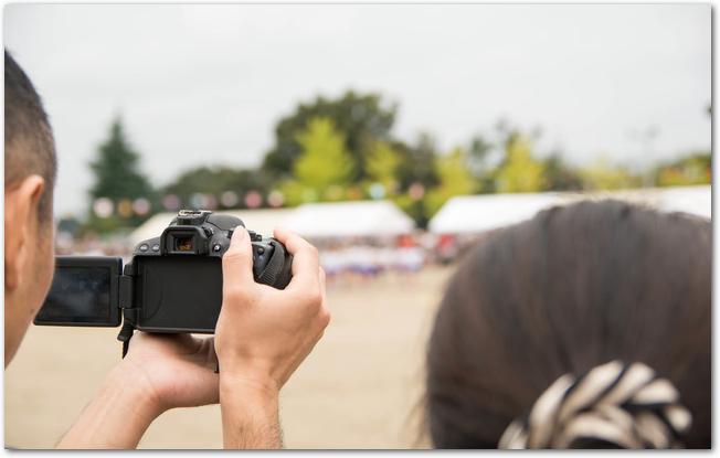 子供の運動会カメラのシャッタースピードは?動画のコツは?レンズは?