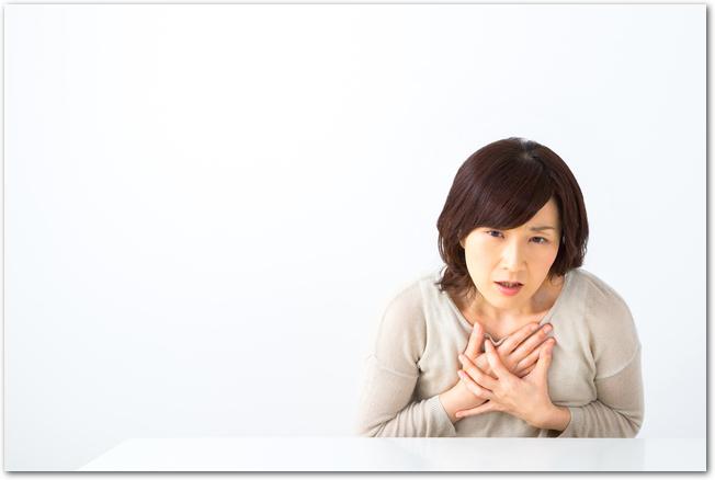 生理前のおっぱい・胸・乳首がチクチク痛いのはなぜ?40代から?対処法は?